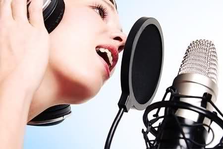 singing student
